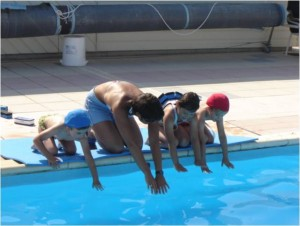 cours natation plongeon
