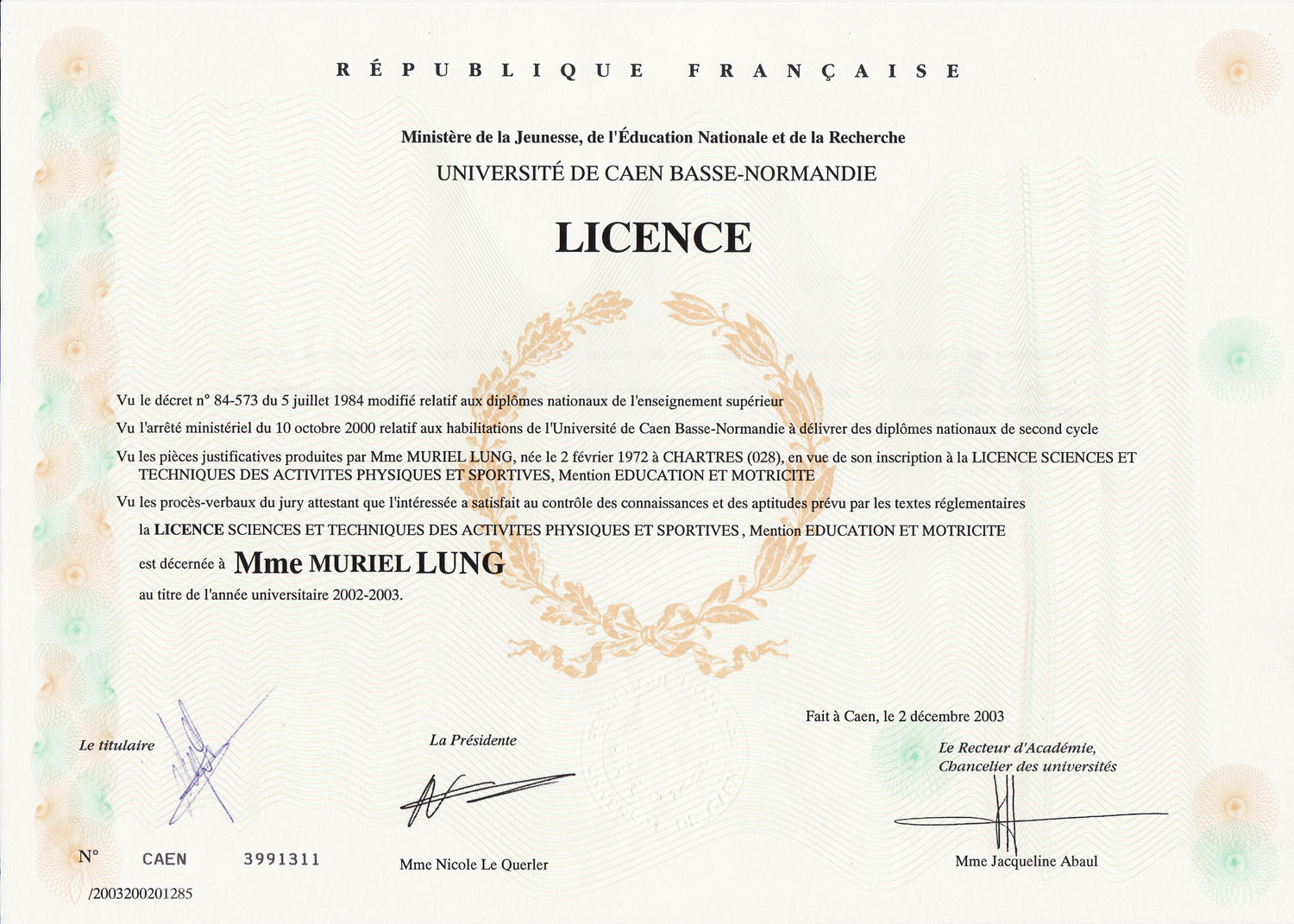 diplome universitaire a nice